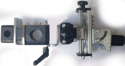 Układ suportów do czujnika GMD/GMH wersja Pneumaticon do głowicy ESAB A2 A6