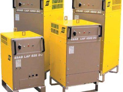 """""""Źródła prądu LAF do sterownika PEH nowe i używane na stanie 28 różnych źródeł do zautomatyzowanego spawania ESAB"""