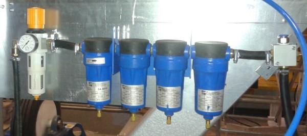 Zestaw filtrów kamera SAW i system pneumatycznego podawania topnika ESAB TPC 75