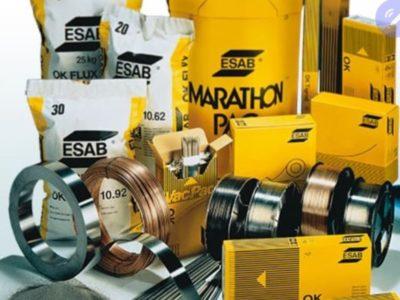 Materiały spawalnicze ESAB , stal czarna, nierdzewna , aluminium