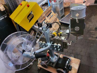 ESAB A6 Tandem DC AC - traktory spawalnicze nowe i używane. Atrakcyjne ceny - możliwość wynajęcia.