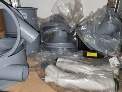 ESAB OPC A2 A6 flux recovery system - system odzyskiwania topnika części eksploatacyjne .