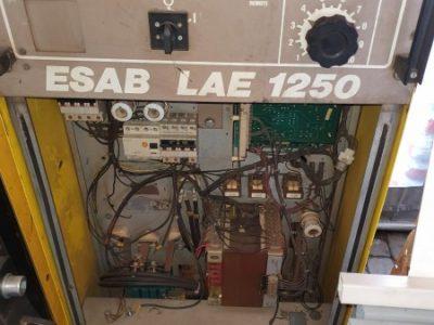 ESAB LAE 1250 power source źródło prądu, ESAB LAE 1250 Spare Parts -części zamienne
