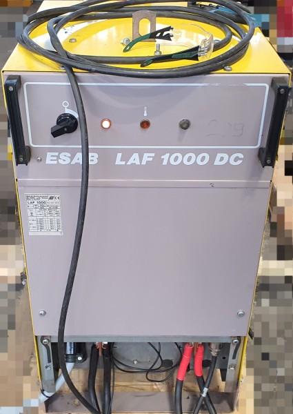 ESAB A2 Multitrac PEH LAF 1000 OPC flux recovery unit - traktor spawalniczy A2 ESAB ze żródłem Laf 1000 amper komplet z odkurzaczem OPC