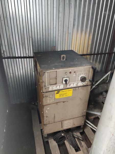 ESAB LAE 800 źródło prądu